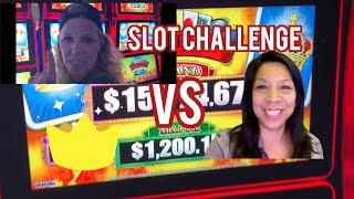 Slot Challenge *Rematch*Tiffany Mills VS Gambleholic Queen Slots Loteria Lock it Link It 🔒