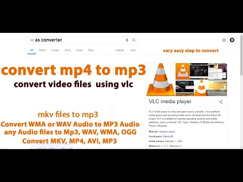 vlc as converter | how to convert MP4 to MP3 using VLC Media