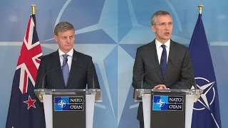 NATO chief slams 'unacceptable' attempts to influence elections