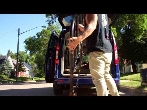 Metal mike buzzard  free pickup Junk antiques Dumpster diving Reality Junker