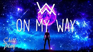 Alan Walker ‒ On My Way (Lyrics) ft. Sabrina Carpenter, Farruko