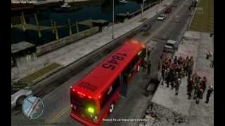 GTA IV - Bus Driver : Route D # 4
