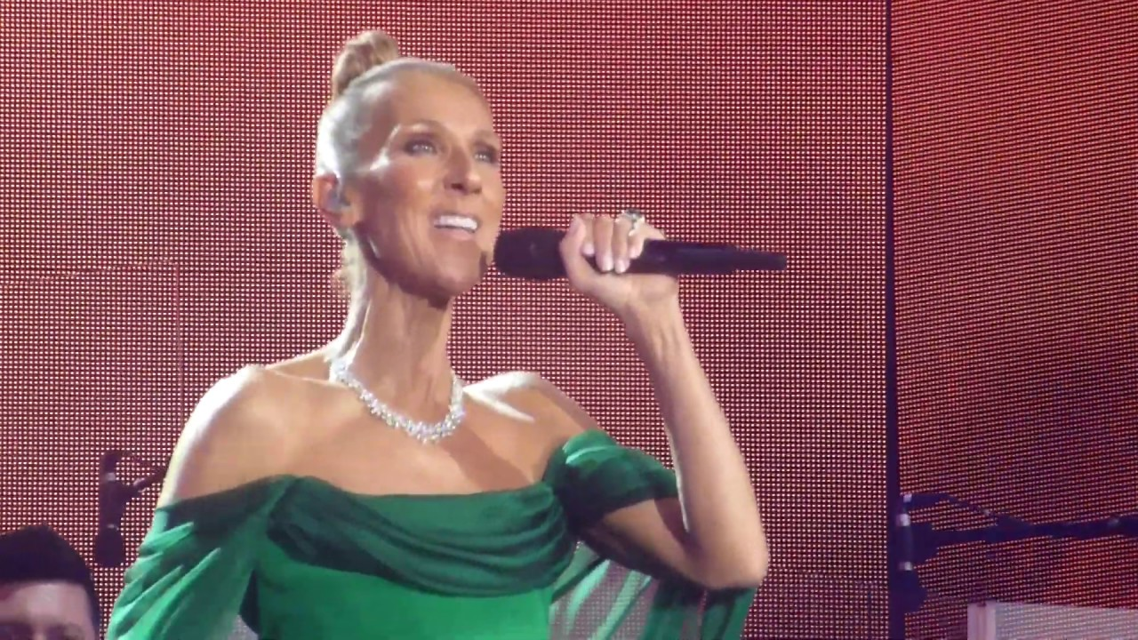 Céline Dion Debuts New Song Flying On My Own Live in Las