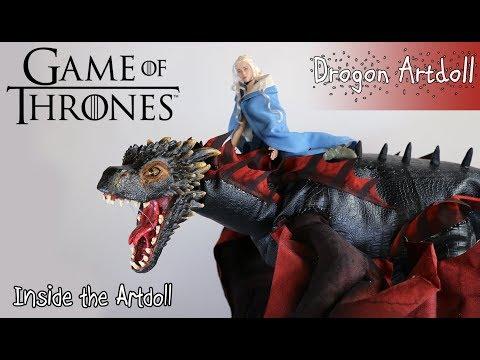Revealing my HUGE Drogon Artdoll...Finally!