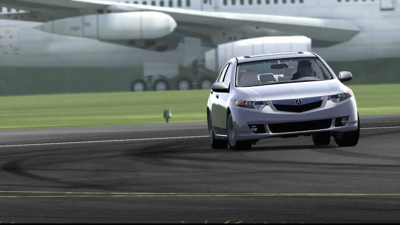 Top Gear Test Track Acura Tsx V6