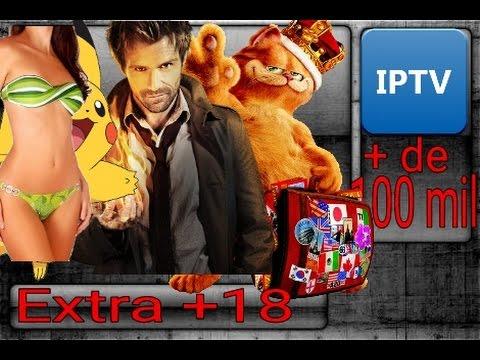 Super Lista IPTV Atualizada 2017 - +18 adulto, filmes, séries, animes, desenhos e outros
