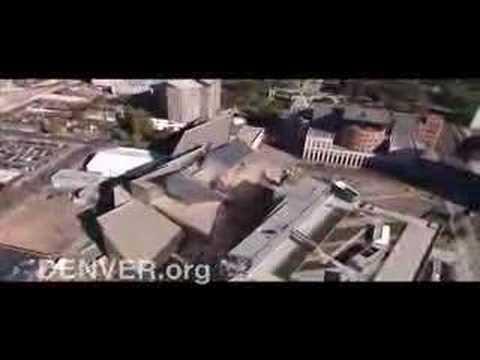 Denver B-roll: Denver Art Museum