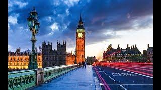 England tourism . Great Britain travel video: Big Ben, Buckingham Pala