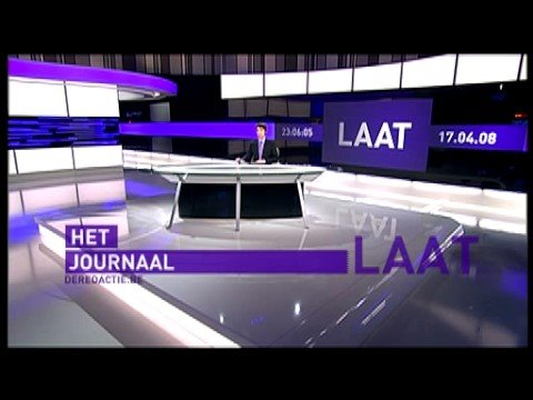 Het Journaal news design
