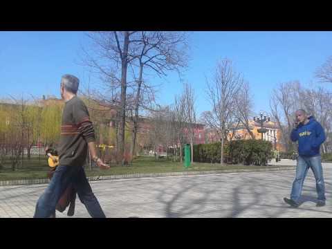Nice morning in Shevchenko park, Kiev.