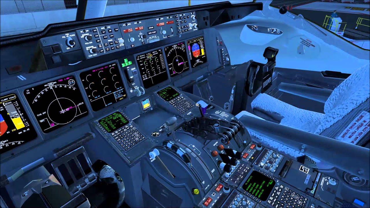 [FSX] Tutorial 3: Pro-ATC/X, PMDG MD-11F, Checklist `Start` + Pushback (HD)