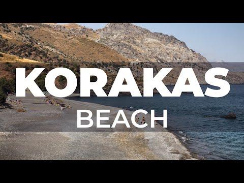 Kreta | Crete - Korakas Beach (Rodakino) - Cretan Beaches
