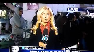 vuclip Reporter gets groped on live TV KTLA channel 5