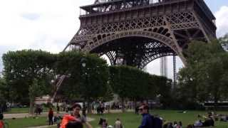Eiffel Tower, Paris May 2013 Thumbnail