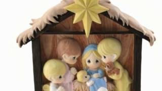 Precious Moments Nativity Scene Ornament