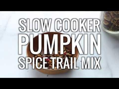 Paleo Pumpkin Spice Trail Mix (Vegan)