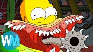 Top 10 des MEILLEURES épisodes ''HORROR SHOW'' des SIMPSON !