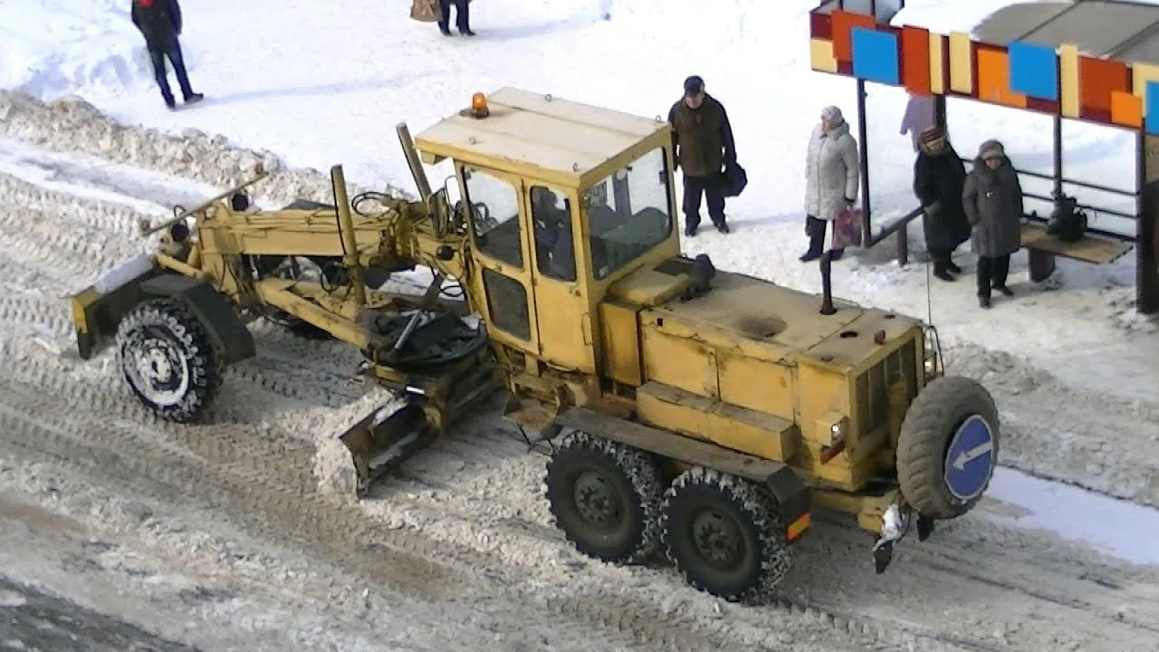 Грейдер ДЗ-180