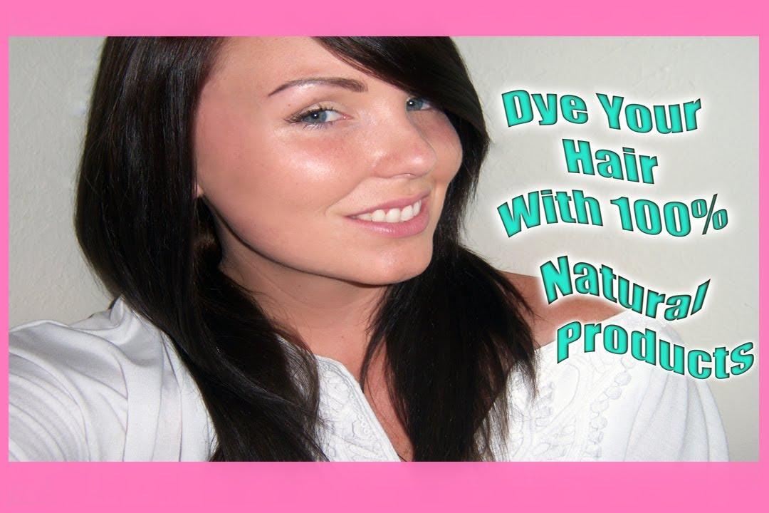 How To Dye Your Hair 100 Natural Whenna Indigo Youtube