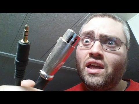 How to set up a Condenser Microphone