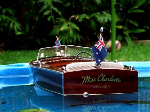 Building A Scale Model Boat 1947 Chris Craft Utility Rc Boat