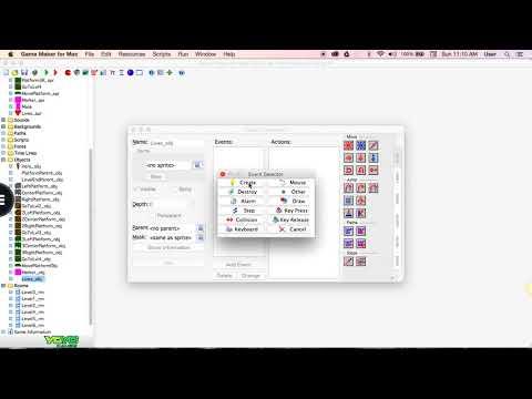 Lives in Game Maker 7 for Mac