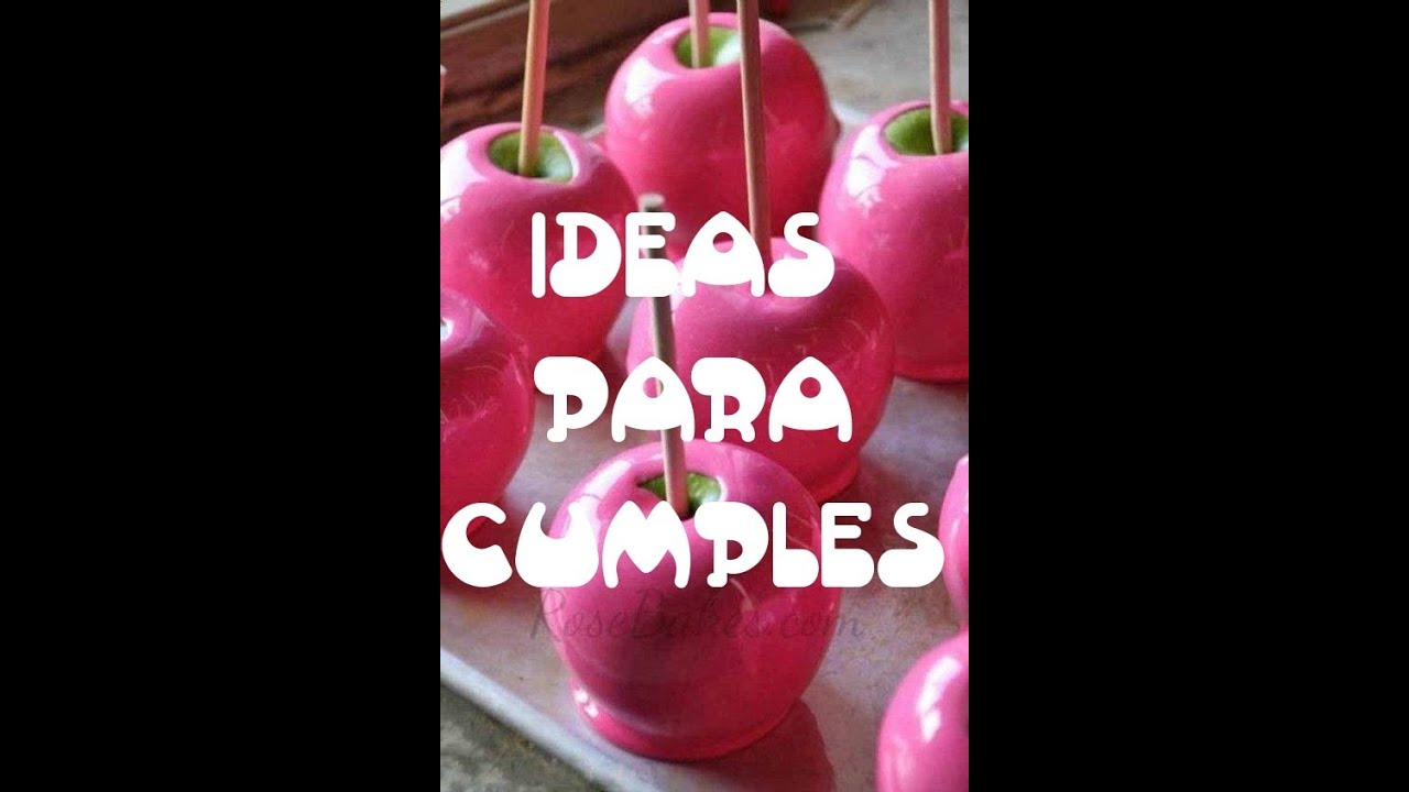 Ideas para cumplea os y baby shower de ni a youtube - Ideas para cumpleanos de nina ...