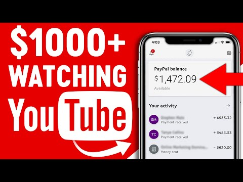 Make Money Online Watching YOUTUBE Videos! (Available Worldwide!)