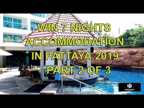 Review the Centara Pattaya Hotel, Pt 2 of 3 to win 7 nights in Pattaya
