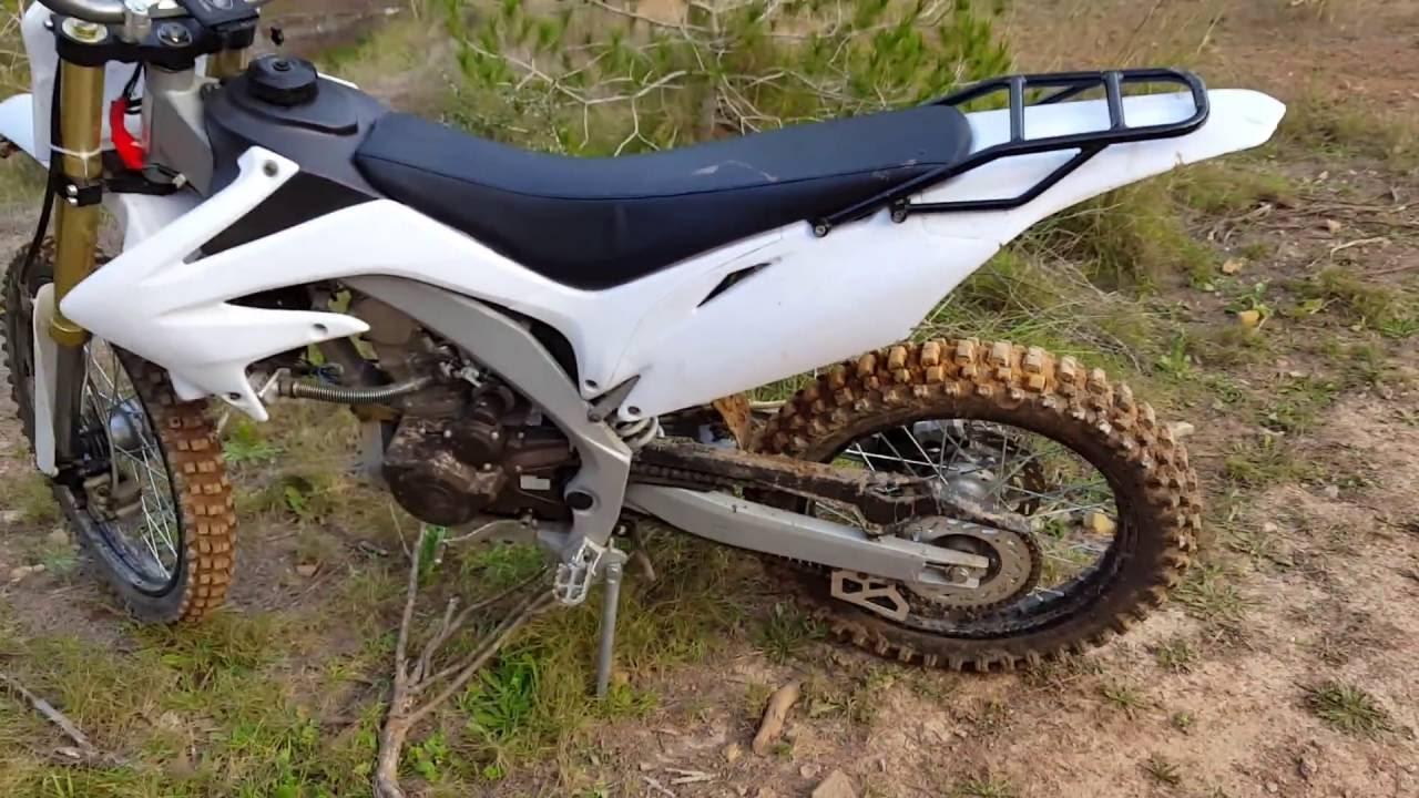 dirt bike 250cc Roan