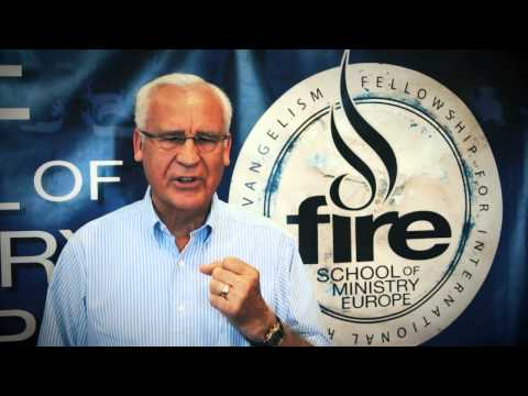 Invitation to FIRE School of Ministry Europe by David Ravenhill