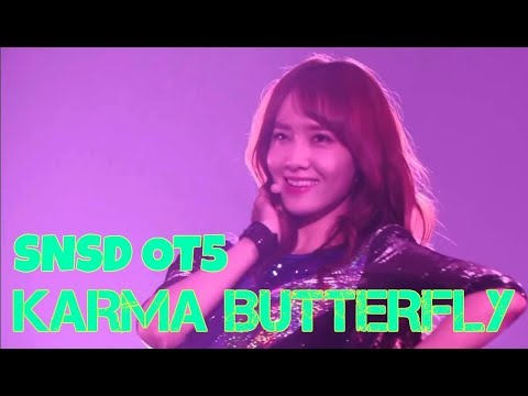 How would GIRLS'GENERATION Oh!GG sing KARMA BUTTERFLY by SNSD