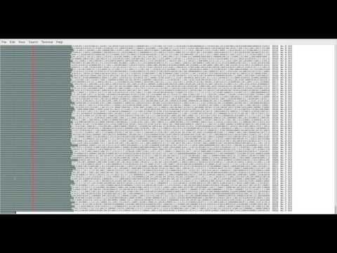 Visualizing Bitcoin Blockchain Block Hashes