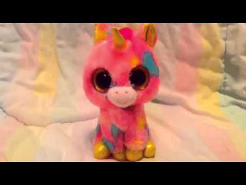 5ef172b5f3f Pink fluffy unicorns (beanie boo Edition) - YouTube