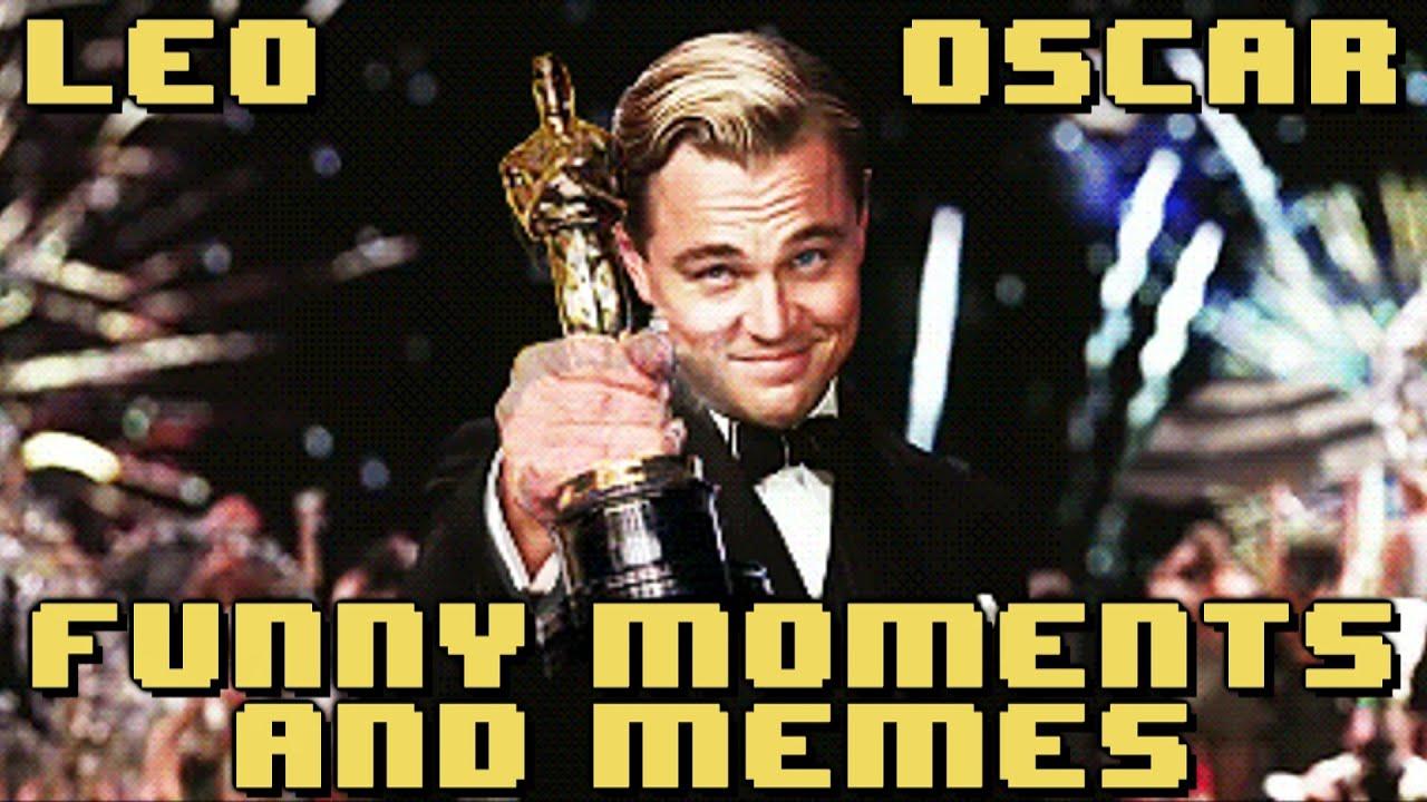 Funny Meme Moments : Leonardo dicaprio oscar win funny moments memes youtube