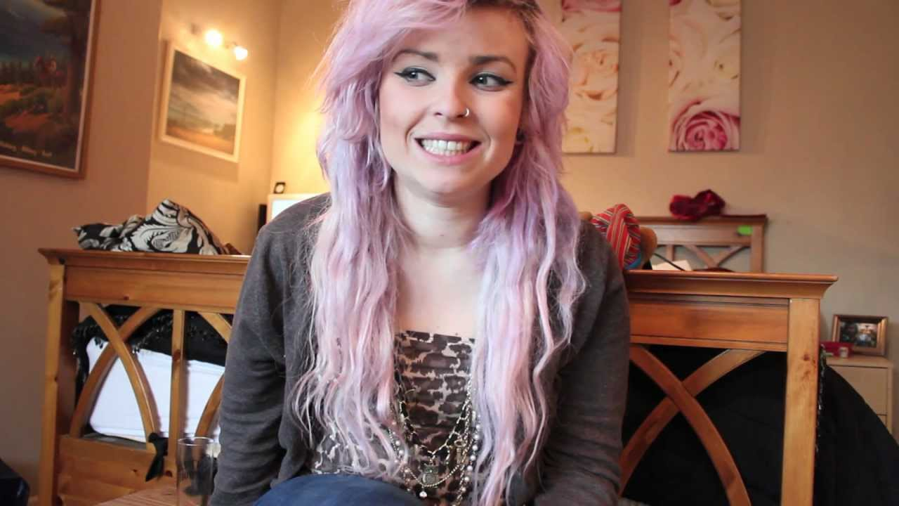 How To Get Pastel Pink Purple Hair My Experiment Youtube