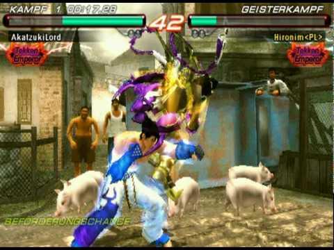Tekken 6 Psp Ranking Match Tekken God Youtube