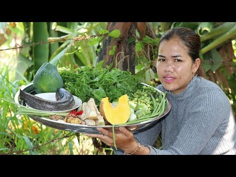 Awesome Cooking Fish With Vegetable Soup Delicious Recipe –  Cook Fish Recipes- Village Food Factory
