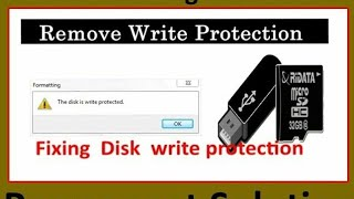 HP Pen Drive Write Protected Problem Solution 100% 6min