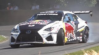 Ahmad Daham's 844HP Supercharged Lexus RC-F! - Drifting at Goodwood FOS 2019!