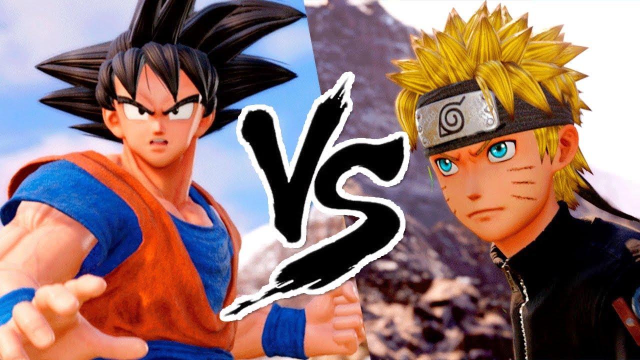HAGAZO - GOKU VS NARUTO : Quem Ganha? - Jump Force