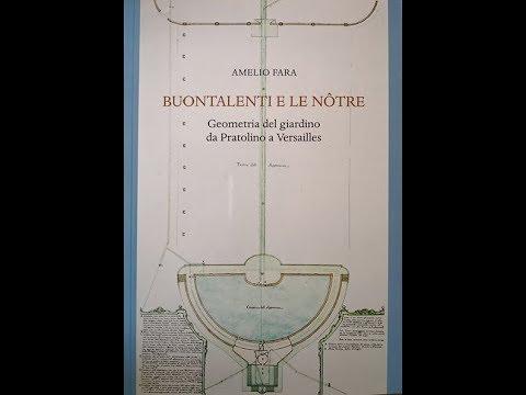 """16 aprile 2018 - """"Buontalenti e le Notre"""" di Amelio Fara"""