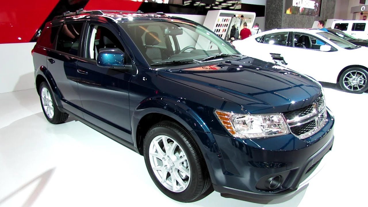 2013 Dodge Journey Crew Exterior And Interior Walkaround