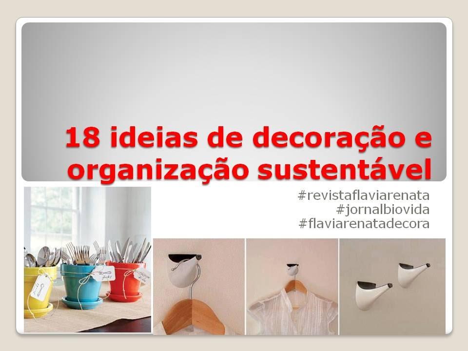 18 ideias de decora??o e organiza??o sustentavel - YouTube