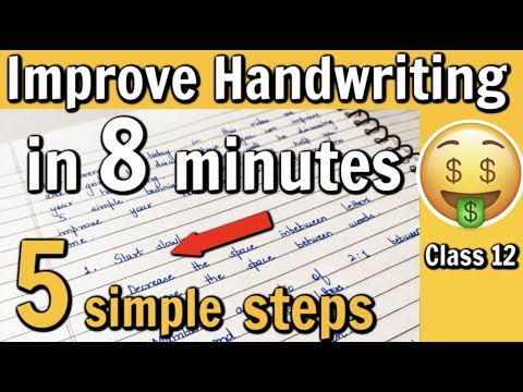How To Improve Handwriting Under 8 Minutes   5 Simple Tips
