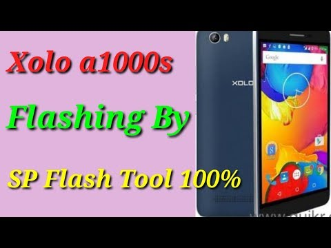 Xolo A1000s Flashing By SP Flash Tool 100%
