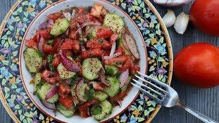 Պարսկական Աղցան Շիրազի - Salad Shirazi - Heghineh Cooking Show in Armenian