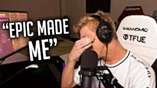 Epic Games FORCED Tfue to Buy Skins in Fortnite...