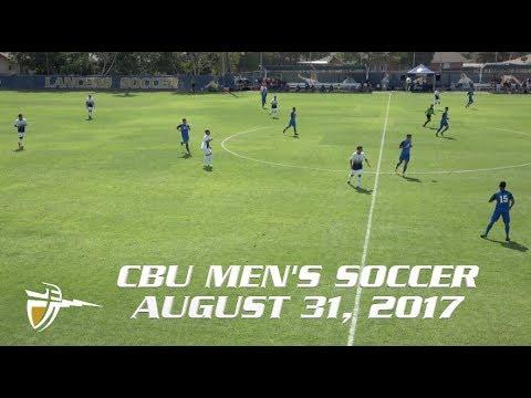 CBU MSOC vs Cal State San Bernardino 8-31-17
