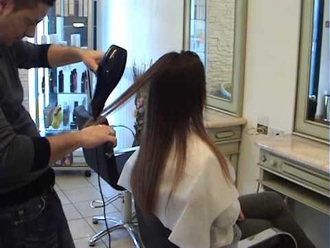Spazzola per lisciare i capelli uomo